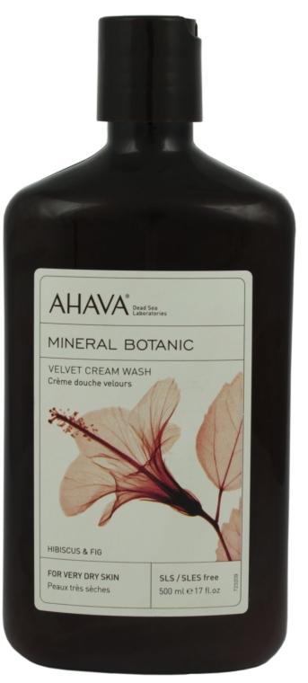 """Душ гел """"Хибискус и смокини"""" - Ahava Mineral Botanic Velvet Cream Wash Hibiscus & Fig — снимка N1"""