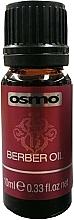 Парфюмерия и Козметика Изглаждащо масло за коса с масло от авокадо, кокос и арган - Osmo Berber Oil (мини)