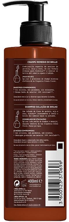 Шампоан за коса - L'Oreal Paris Botanicals Fresh Care Geranium Shampoo — снимка N2