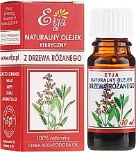 Парфюмерия и Козметика Натурално етерично масло от розово дърво - Etja Natural Essential Oil
