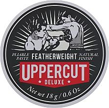 Парфюмерия и Козметика Стилизираща паста за коса със средна фиксация - Uppercut Deluxe Featherweight (мини)