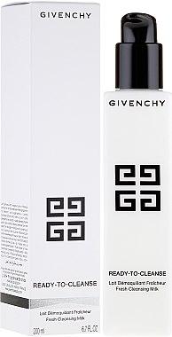 Мляко за почистване на грим - Givenchy Ready-to-Cleanse Lait Demauillant Fresh Cleansing Milk — снимка N1