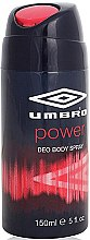 Парфюми, Парфюмерия, козметика Umbro Power - Дезодорант