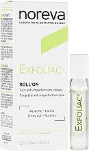 Парфюми, Парфюмерия, козметика Рол-он гел за лице - Noreva Laboratoires Exfoliac Roll-On Anti-Imperfections