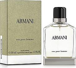 Парфюми, Парфюмерия, козметика Giorgio Armani Armani Pour Homme - Тоалетна вода