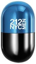 Парфюми, Парфюмерия, козметика Carolina Herrera 212 NYC Men Pills - Тоалетна вода