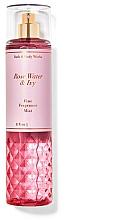Парфюмерия и Козметика Bath and Body Works Rose Water & Ivy - Парфюмен спрей за тяло