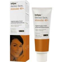 Парфюми, Парфюмерия, козметика Крем за лице - Tolpa Dermo Face Stimular 40+ Night Cream SPF15