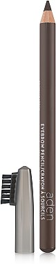 Молив за вежди с четка - Aden Cosmetics Eyebrow Pencil