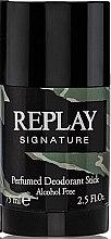 Парфюмерия и Козметика Replay Signature For Men Replay - Стик дезодорант