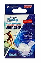 Парфюмерия и Козметика Водоустойчиви пластири - Ntrade Active Plast First Aid Waterproof Plasters Aqua Stop Mix