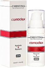 Парфюми, Парфюмерия, козметика Хидратиращ и възстановяващ серум за лице - Christina Comodex Hydrate & Restore Serum