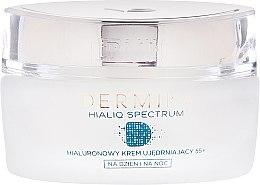 Овлажняващ крем против бръчки - Dermika Hialiq Face Cream 55+ — снимка N2