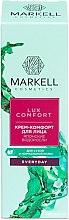 """Парфюмерия и Козметика Крем за лице """"Японски водорасли"""" - Markell Cosmetics Lux-Comfort"""