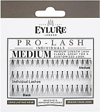 Парфюми, Парфюмерия, козметика Изкуствени мигли на снопчета - Eylure Black Individual Pro Medium Length Lashes