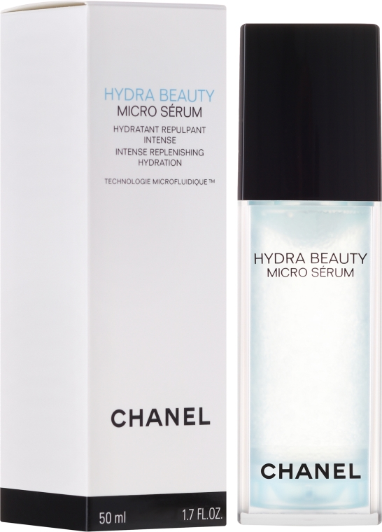 Овлажняващ серум за лице - Chanel Hydra Beauty Micro Serum — снимка N1