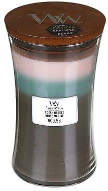 Ароматна свещ в чаша - WoodWick Hourglass Trilogy Candle Ocean Breeze — снимка N4