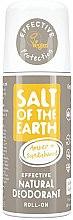 Парфюмерия и Козметика Натурален рол-он дезодорант - Salt of the Earth Amber & Sandalwood Natural Roll-On Deo