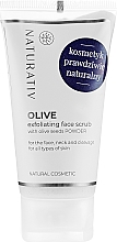 Парфюмерия и Козметика Маслинов пилинг за лице - Naturativ Olive Exfolianting Face Scrub