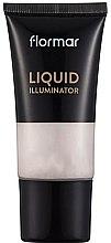 Парфюмерия и Козметика Течен хайлайтър - Flormar Liquid Illuminator