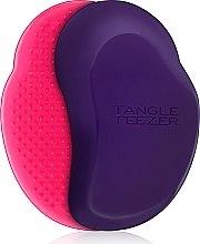 Парфюми, Парфюмерия, козметика Четка за коса, розово-лилава - Tangle Teezer The Original Blueberry Pop Brush