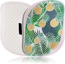Парфюмерия и Козметика Компактна четка за коса - Tangle Teezer Compact Styler Brush Palms & Pineapples