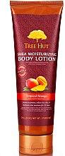 """Парфюмерия и Козметика Лосион за тяло """"Тропическо манго"""" - Tree Hut Shea Moisturizing Body Lotion"""