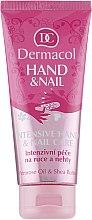 Парфюми, Парфюмерия, козметика Крем за ръце и нокти - Dermacol Hand & Nail Intensive Care