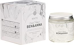 Парфюмерия и Козметика Натурална паста за зъби - Ben & Anna Natural White Toothpaste