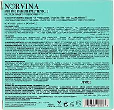 Палитра сенки за очи - Anastasia Beverly Hills Norvina Pro Pigment Mini №3 — снимка N4