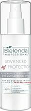 Парфюмерия и Козметика Антибактериален спрей за ръце - Bielenda Professional Advanced Ag+ Protection