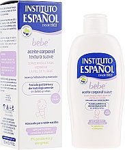 Детско масло за тяло - Instituto Espanol Baby Body Oil — снимка N1
