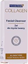 Парфюмерия и Козметика Почистващ колагенов гел за лице - Novaclear Collagen Facial Cleanser