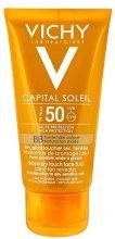 Парфюмерия и Козметика Слънцезащитен крем за лице - Vichy Capital Soleil BB Tinted Dry Touch Face Fluid SPF 50