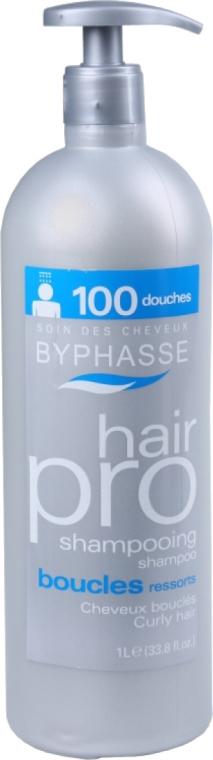 Шампоан за къдрава коса - Byphasse Hair Pro Shampooing Boucles Ressoorts — снимка N1