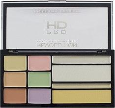 Парфюми, Парфюмерия, козметика Палитра коректори за лице - Makeup Revolution HD Correct and Perfect Palette