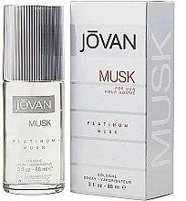 Парфюмерия и Козметика Jovan Platinum Musk For Men - Одеколони