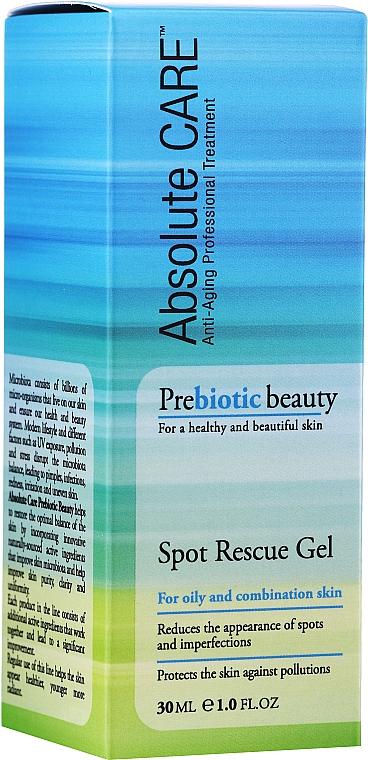 Гел за лице за мазна и комбинирана кожа - Absolute Care Prebiotic Beauty Spot Rescue Gel — снимка N1