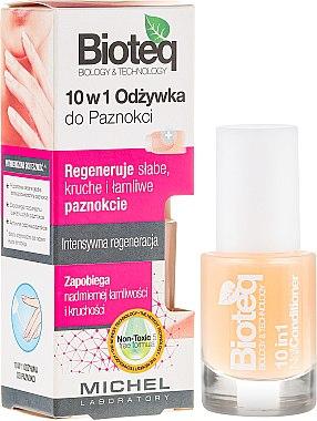 Балсам за нокти 10в1 - Bioteq Nail Conditioner 10in1 — снимка N1