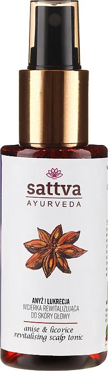 Тоник за коса - Sattva Ayurveda Anise and Licorice Revitalizing Scalp Tonic