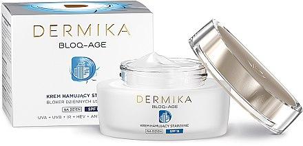 Дневен крем за лице - Dermika Bloq-Age Anti-Ageing Cream SPF15 — снимка N4