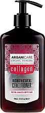 Парфюмерия и Козметика Балсам за коса с колаген - Arganicare Collagen Reconstructuring Conditioner