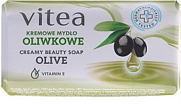 Парфюми, Парфюмерия, козметика Крем сапун маслинов - Vitea Cream Soap