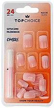 """Парфюмерия и Козметика Изкуствени нокти """"Ombre"""", 78002 - Top Choice"""