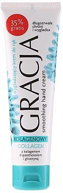 Изглаждащ крем за ръце с колаген - Gracja Collagen Hand Cream — снимка N1