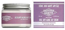 Парфюмерия и Козметика Подмладяващ дневен крем за суха и много суха кожа на лицето - Institut Karite Shea Anti-Aging Day Cream