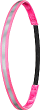 """Парфюмерия и Козметика Лента-ластик за коса """"Neon Pink Reflective"""" - Ivybands"""
