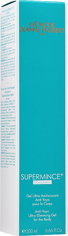 Гел за отслабване с анти йо-йо ефект - Methode Jeanne Piaubert Supermince+ Anti-Yoyo Ultra-Slimming Gel for the Body — снимка N2