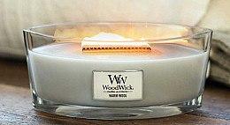 Ароматна свещ в чаша - WoodWick Hearthwick Flame Ellipse Candle Warm Wool — снимка N3