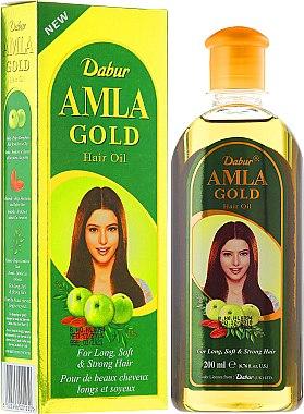"Масло за коса ""Злато"" - Dabur Amla Gold Hair Oil — снимка N1"